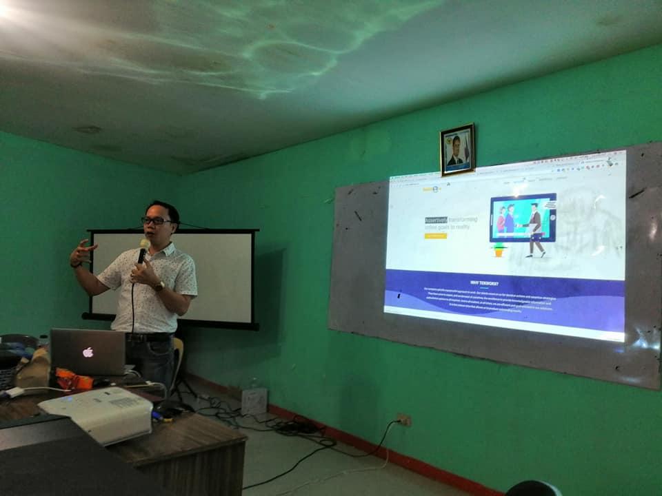 DICT Rural Impact Sourcing, Bert Padilla, Ormoc City