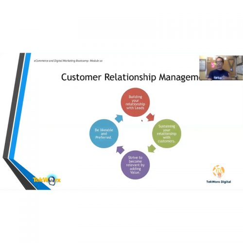 Using CRM in E-Commerce and DM