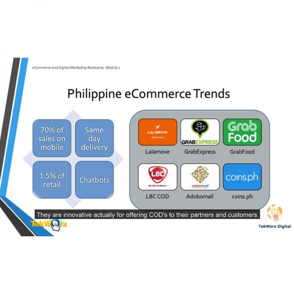 Understand the Landscape of E-Commerce in Philippines to help position your Products or Services in this competitive market.