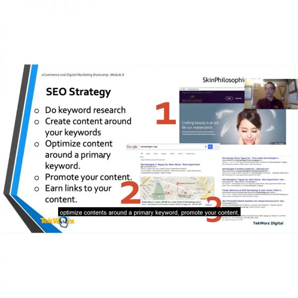 This SEO Training and Tutorial is best suited for newbies and beginners interested to learn how to do SEO for WordPress E-Commerce websites.