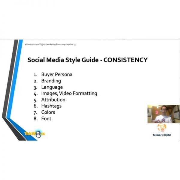 social media content creation