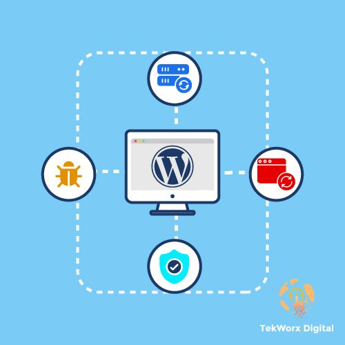 WordPress Maintenance and Backup Recovery