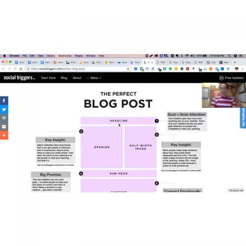 Blogging for E-Commerce and DM