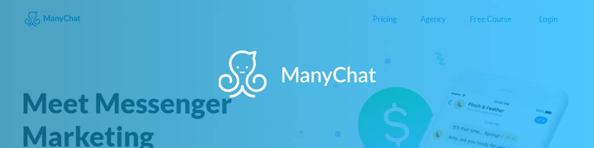 ManyChat platform for chatbot development.