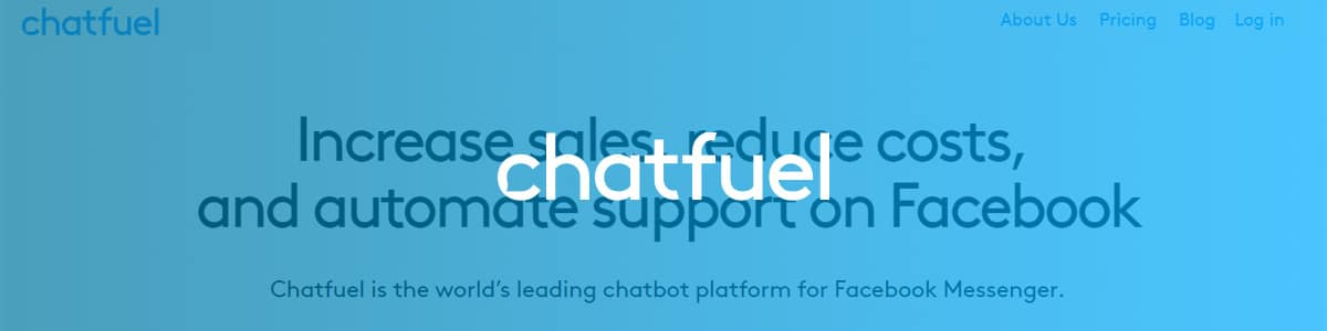 Chatfuel is a chatbot platform specifically made for Facebook.