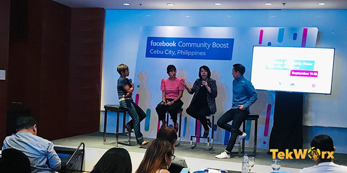 Facebook Community Boost kicks off in Cebu City