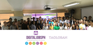 DICT's DigitalJobsPH technical training launches in Tacloban City. The program aims to provide digital opportunities in the countryside.